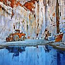 Marble quarry at Naxos island - Cyclades, Greece by Hercules Milas