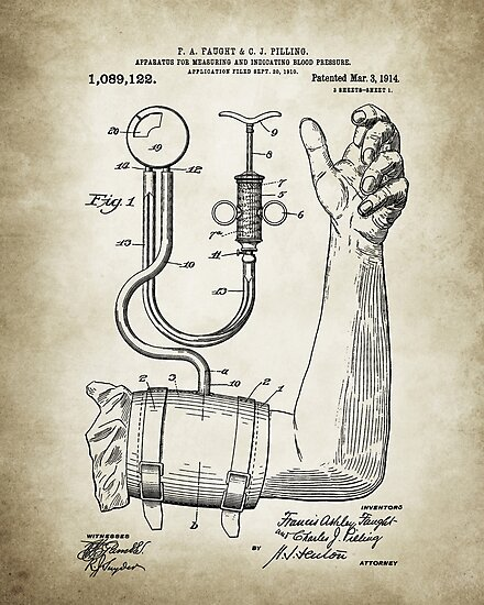 Doctor Patent Posters by Igor Drondin