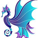 Seahorse Mosaic by FreakorGeek