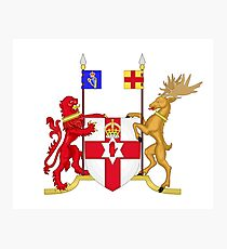 Coat of arms of Northern Ireland  Photographic Print
