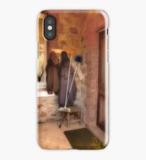 Coats and Brooms iPhone Case