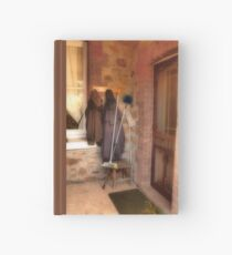 Coats and Brooms Hardcover Journal