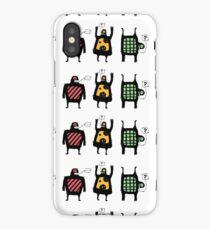 Totem people iPhone Case