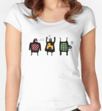 Totem people Women's Fitted Scoop T-Shirt
