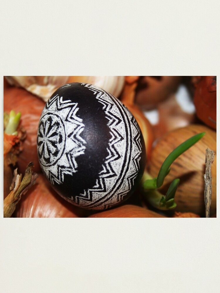 Alternate view of Easter Egg Photographic Print