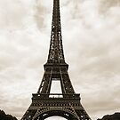 Eiffel Tower Sepia by swight