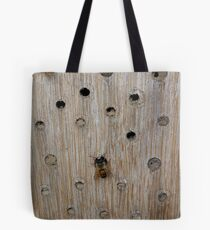 Solitary Bee Tote Bag