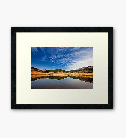 Placid Framed Print