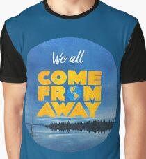 Camiseta gráfica Ven de lejos