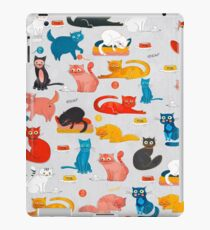 Playful Funny Cats iPad Case/Skin