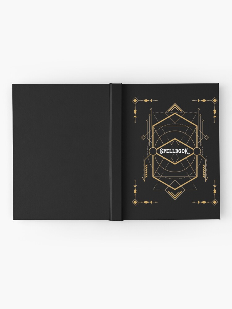 Alternate view of Wizard Spellbook - Magic and Curses Wizardry and Witchcraft Tabletop RPG Gaming Hardcover Journal