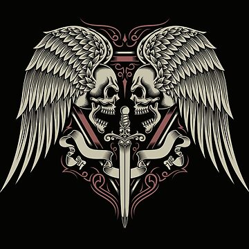 Winged Skulls by pauge