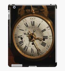antique clock   iPad Case/Skin