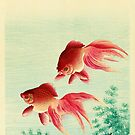 Two Goldfish by Koson by Ruth Moratz