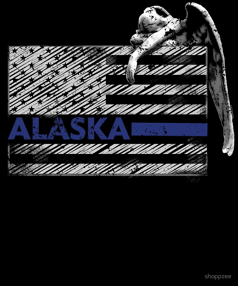 Alaska Police State Police Guardian Angel by shoppzee