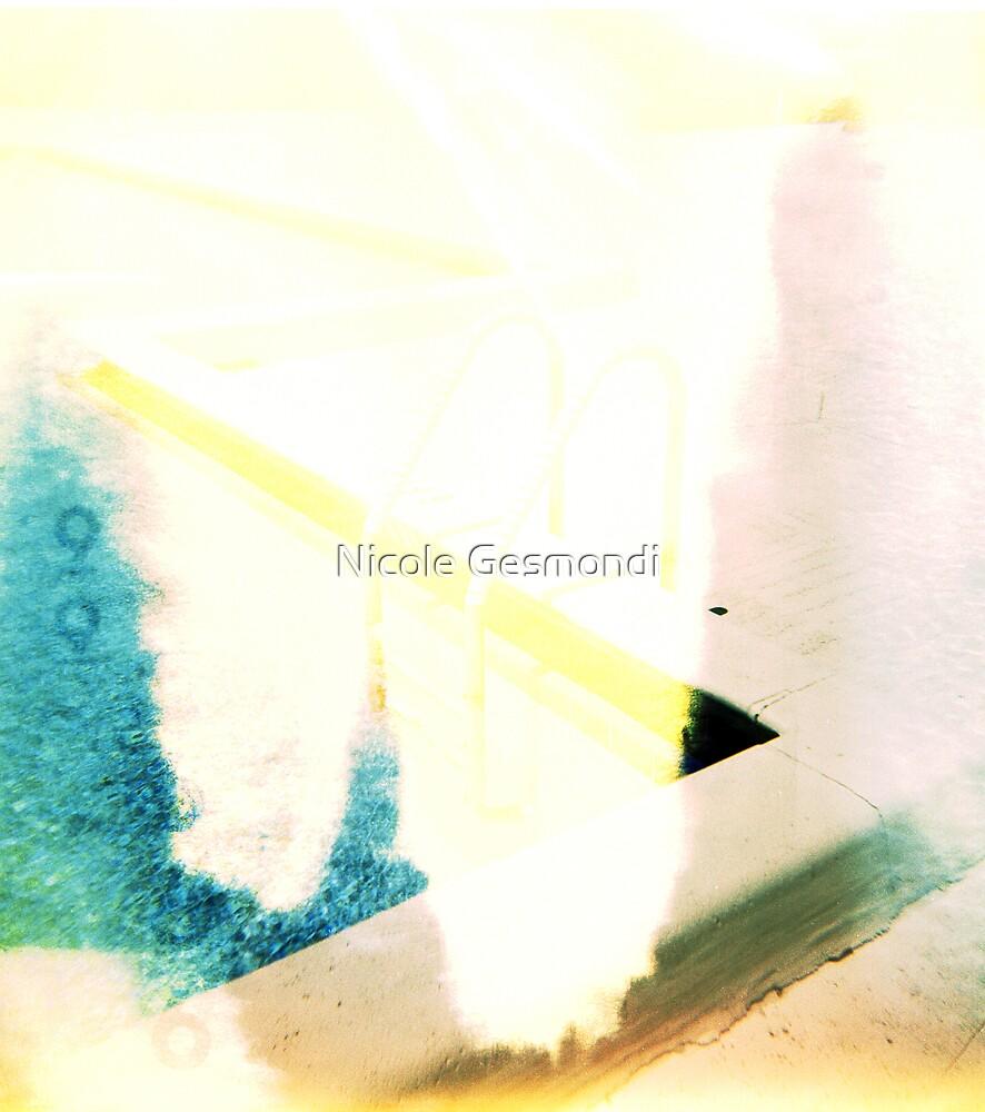 Swimming Pool Ladder by Nicole Gesmondi