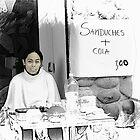 Sandwich and a Drink $1 by Al Bourassa