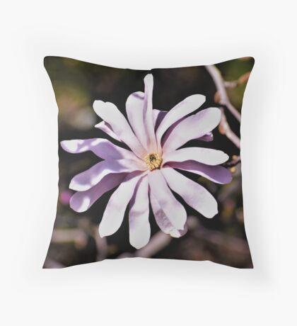 Magnolia Blossom III Throw Pillow