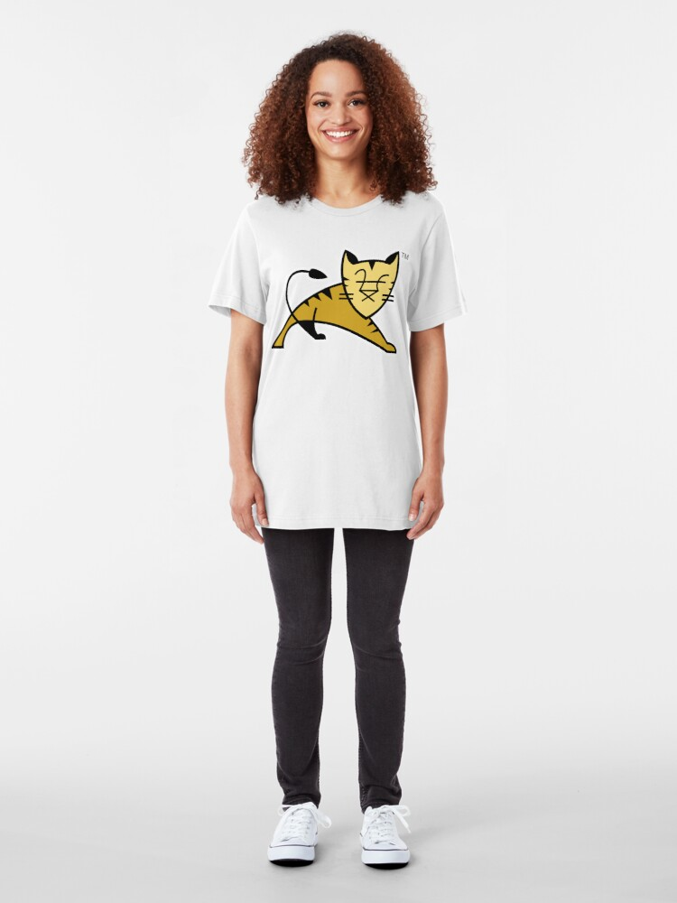 Alternate view of Apache Tomcat Slim Fit T-Shirt