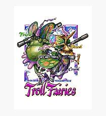 The Troll Fairy Trio Photographic Print