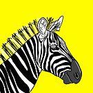 Yellow Zebra by Adam Regester