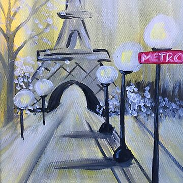 A Walk in Paris | The Buzzed Artist by twistedpainter