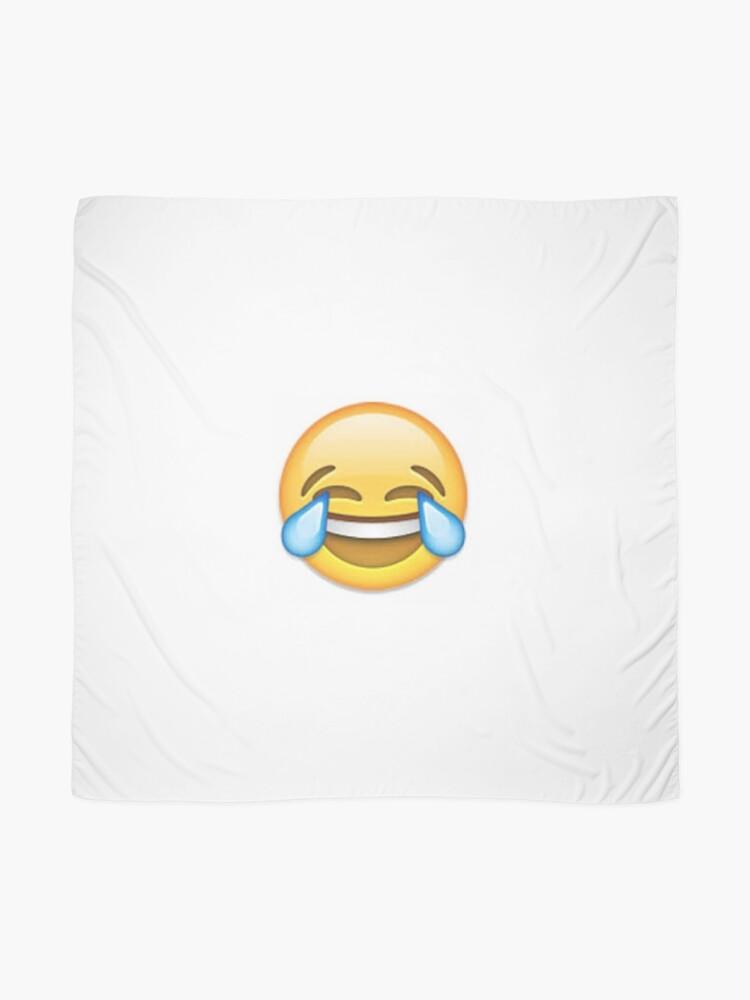 Alternative Ansicht von Laughing Emoji Tuch