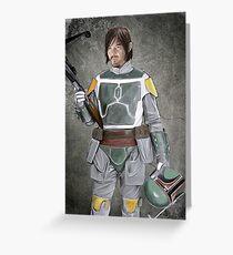 Daryl Fett : Zombie Hunter (Variant A) Greeting Card