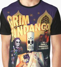 Grim Fandango (High Contrast) Graphic T-Shirt