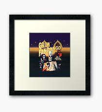 Grim Fandango (High Contrast) Framed Print