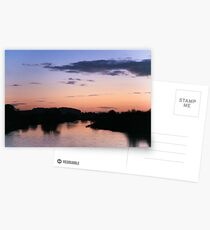 Sunset at Willington Postcards