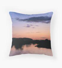 Sunset at Willington Throw Pillow