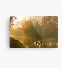 Early Evening in Late Autumn  Metal Print