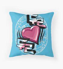 Dugeun Dugeun (Heartbeat) Throw Pillow