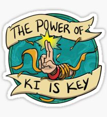 Dungeons and Dragons Monk Badge Sticker