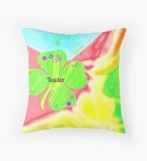 Xavier - personalize your gift  Throw Pillow