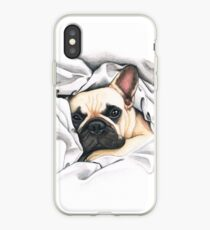 Vinilo o funda para iPhone bulldog francés - @MiudaFrenchie
