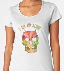 I AM NO ALIEN Women's Premium T-Shirt