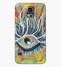 Ich <3 Auge Hülle & Klebefolie für Samsung Galaxy