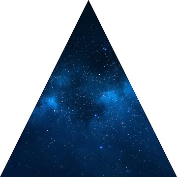Blue Nebula in Triangle by Crampsy