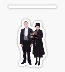 Baxter & Molesley - Downton Abbey Sticker