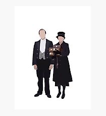 Baxter & Molesley - Downton Abbey Photographic Print