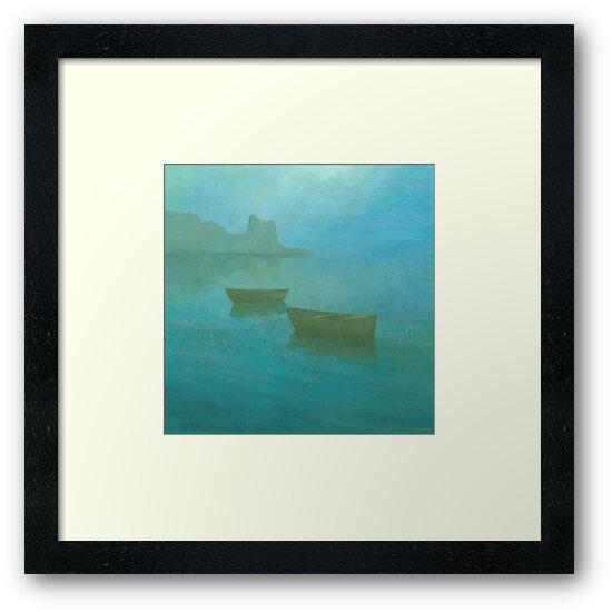 Blue Mist I by Stephen Mitchell