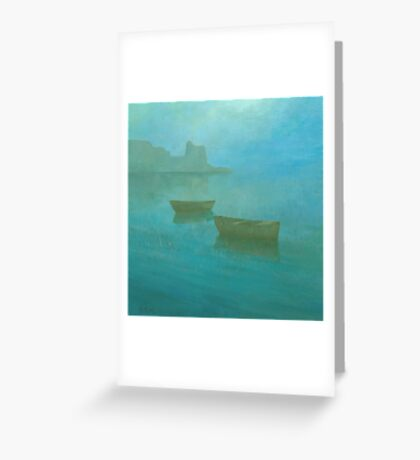 Blue Mist I Greeting Card