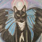Angel Cat by NiecyCatz