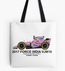 FORCE INDIA VJM10 2017  Tote bag