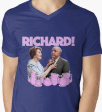 Richard Bucket! Men's V-Neck T-Shirt