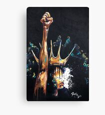 Naturally Queen Badu Canvas Print