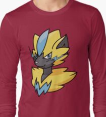 Zeraora bust Long Sleeve T-Shirt