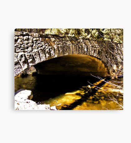 Tanaya Creek Bridge Canvas Print